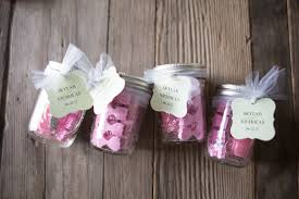wedding shower thank you gifts bridal shower party favor pedicures in a jar kelsey