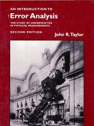 an introduction to error analysis john r taylor chi squared