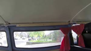 Car Interior Curtains Diy Vw Love Bus Interior Giving The Hippie Van Some Feng Shui