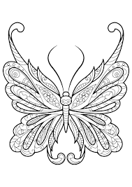 butterfly coloring book coloring pages for adults