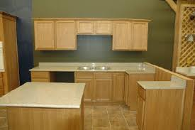 Easy Kitchen Cabinets by Pre Finished Flat Panel Oak Cabinets Ready To Assemble