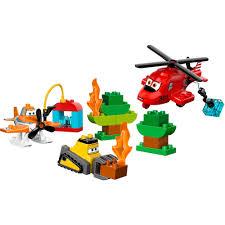 lego duplo planes fire rescue team walmart