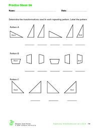 math transformation worksheets printables translations worksheet