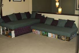 our new diy couch sofa made from twin xl mattresses cement blocks