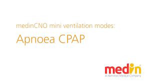 apnoea cpap medincno mini ventilation mode youtube