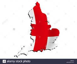 Englang Flag England Flag Border Outline Atlas Map Of The World Map