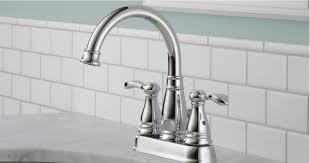 Chrome Bathroom Faucet The Home Depot Delta 2 Handle Chrome Bathroom Faucet Only 34 88