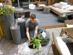 garden at elle decor concept house erbology