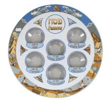 buy seder plate buy story of exodus plastic passover seder plate israel catalog