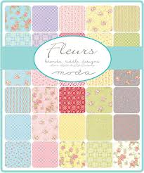fleurs jelly roll brenda riddle for moda 2 5 inch by jambearies