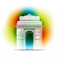Home Architecture Design For India Gate Of India Design For Indian Independence Day Vector Free