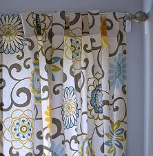 Teal Patterned Curtains Ana White Tab Top Curtains And A Giveaway Diy Projects