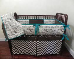western crib bedding etsy