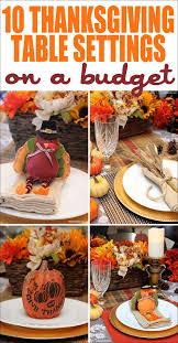 thanksgiving table setting ideas thanksgiving place settings