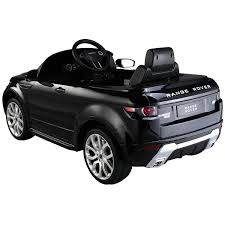 range rover evoque back range rover evoque 12v licensed ride on car