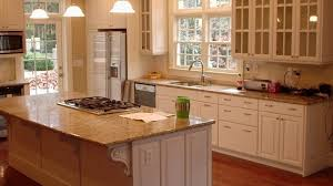traditional cabinets island breakfast bar with bold countertop