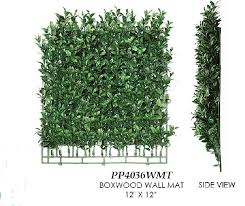 artificial topiary trees topiary wall boxwood wall mat