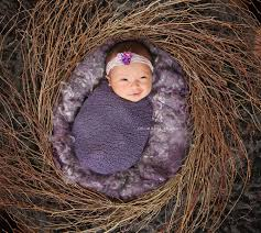 baby photo props nest of curls blanket lavender field ababa baby props
