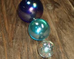 solid glass balls etsy