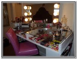 Homemade Makeup Vanity Ideas Magnificent Diy Vanity Table With Diy Makeup Vanity Brilliant