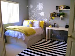 Bedroom Pop Bedroom Pretty Yellow And Gray Bedding That Will Make Your