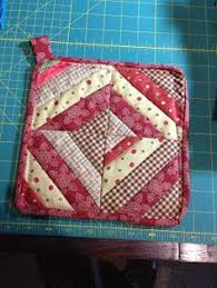 quilted potholder patterns quilted by stitching near the edges
