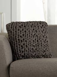 Photo Cushions Online Chunky Knit Cushion 45 X 45 Cm Simons Maison Shop Solid Colour