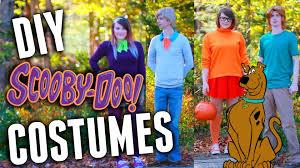 Scooby Doo Gang Halloween Costumes Diy Scooby Doo Group Costumes