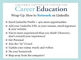 Resume Linkedin Url Navigating Linkedin As A Student Athlete