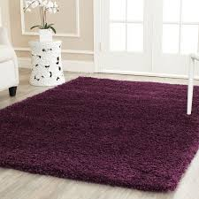 Purple Shag Area Rugs Incorporate This Purple Shag Area Rug Into Your Home For A Pop Of