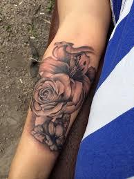 25 beautiful white rose tattoos ideas on pinterest black and