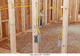 new electrical wiring in house stock photos u0026 new electrical