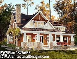 house plans with screened porches plan 18266be storybook bungalow with screened porch cottage