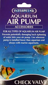 interpet aquarium air pump check valve amazon co uk pet supplies