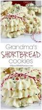 these light and sweet whipped shortbread cookies with a cherry on