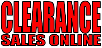 clearance sales clearance deals clearance items