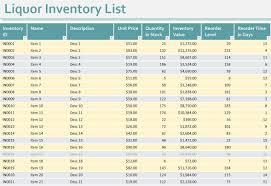 Restaurant Expenses Spreadsheet Liquor Inventory Spreadsheet Excel How To Do Liquor Inventory