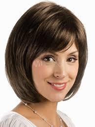 short cap like women s haircut womens light brown heat resistant fiber side parting short wig