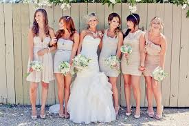 mix match bridesmaid dresses why it works wednesday mix matched bridesmaid dresses in