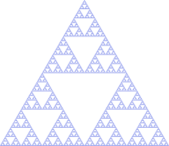 sierpinski triangle wikipedia