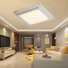 Schlafzimmer Lampe Led Dimmbar 36w 48w 64w Led Deckenleuchte Kristall Wohnzimmer Flurleuchte