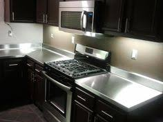 Countertops For Kitchen by Your Diy Stainless Steel Countertop Fabrication Guide Stainless
