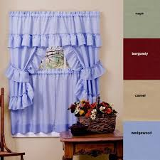 Cottage Kitchen Curtains by 34 Best Home U0026 Kitchen Window Treatments Images On Pinterest
