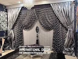 Image Result For Silver Curtains Silver Curtains Pinterest - Living room curtain design ideas