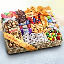 snack baskets birthday party snacks gift basket aa gifts baskets