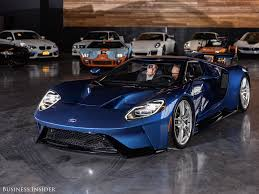 ford supercar interior ford gt supercar modes business insider