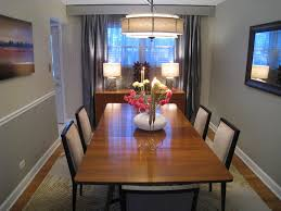 Chair Rails In Dining Room by Mid Century Dining Table Dining Room Eclectic With Centerpiece