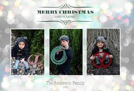 awesome christmas card templates for photographers templates