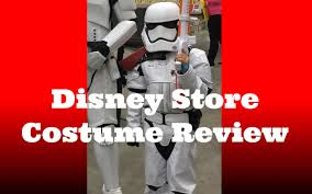 disney store costume product review star wars force awakens 2015