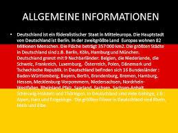 größte stadt deutschlands fläche deutschland als ein bierland ppt herunterladen